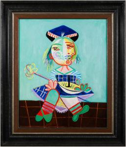 Maya D'après Pablo Picasso