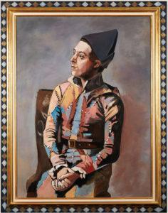 Arlequin D'après Pablo Picasso