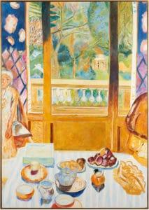 Le petit déjeuner D'après Pierre Bonnard