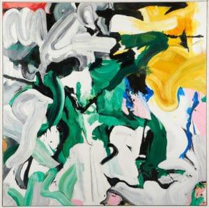 Composition abstraite D'après Wilhelm de Kooning