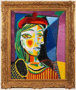 Portrait D'après Pablo Picasso