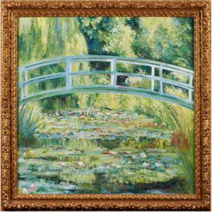 Le pont japonais D'après Claude Monnet