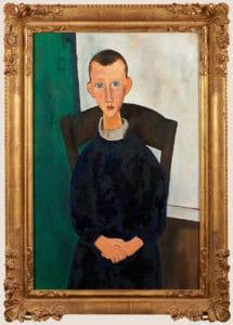 Le fils de la concierge D'après Amédéo Modigliani