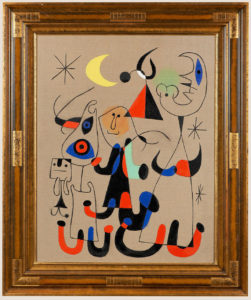 Composition D'après Joan Miro